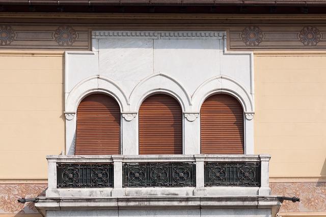 rolety okna